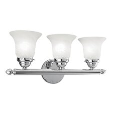 <strong>Livex Lighting</strong> 3 Light Vanity Light