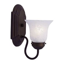 Home Basics 1 Light Wall Sconce