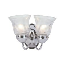 <strong>Livex Lighting</strong> Victoria 2 Light Vanity Light