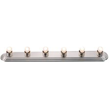 <strong>Livex Lighting</strong> Bath Basics 6 Light Bath Bar