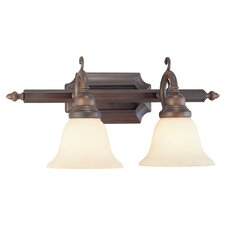 <strong>Livex Lighting</strong> French Regency 2 Light Vanity Light