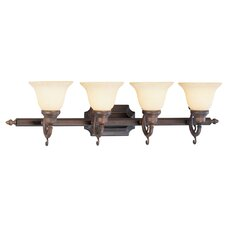 French Regency 4 Light Vanity Light