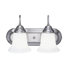 <strong>Livex Lighting</strong> Eloquence 2 Light Vanity Light