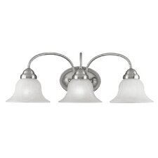 <strong>Livex Lighting</strong> Edgemont 3 Light Vanity Light