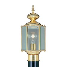 <strong>Livex Lighting</strong> Outdoor Basics 1 Light Post Lantern