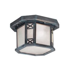 <strong>Livex Lighting</strong> Tahoe Outdoor Flush Mount