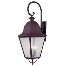 <strong>Livex Lighting</strong> Amwell 4 Light Outdoor Wall Lantern