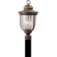 <strong>Livex Lighting</strong> Windham 3 Light Outdoor Post Lantern