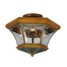 Fairfield 3 Light Semi Flush Mount