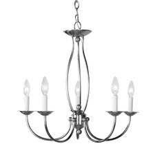 <strong>Livex Lighting</strong> 5 Light Chandelier