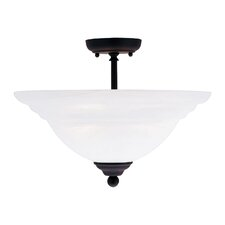 North Port 3 Light Semi Flush Mount