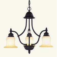 <strong>Livex Lighting</strong> Belle Meade 3 Light Chandelier
