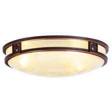 Matrix 3 Light Flush Mount