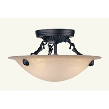 Semi Flush Mount in Bronze