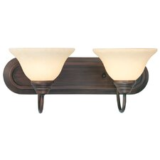 <strong>Livex Lighting</strong> Coronado 2 Light Vanity Light
