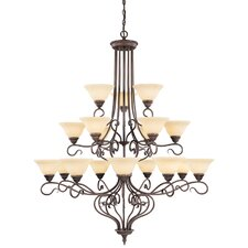 <strong>Livex Lighting</strong> Coronado 18 Light Chandelier