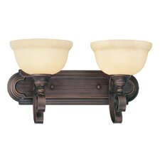 <strong>Livex Lighting</strong> Manchester 2 Light Vanity Light