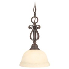 <strong>Livex Lighting</strong> Manchester 1 Light Mini Pendant