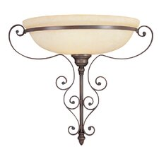 <strong>Livex Lighting</strong> Manchester 1 Light Wall Sconce