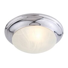 <strong>Livex Lighting</strong> 1 Light Flush Mount