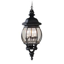 <strong>Livex Lighting</strong> Frontenac 4 Light Outdoor Hanging Lantern