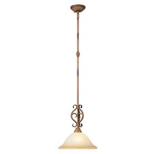 <strong>Livex Lighting</strong> Bistro  Pendant in Venetian Patina