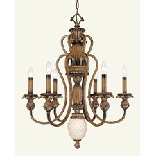 <strong>Livex Lighting</strong> Savannah 7 Light Chandelier