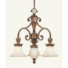 <strong>Livex Lighting</strong> Savannah 3 Light Chandelier