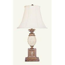 "Savannah 29.5"" H Table Lamp with Bell Shade"