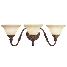 <strong>Livex Lighting</strong> Sovereign 3 Light Bath Vanity Light