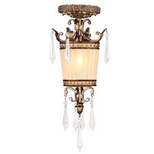 <strong>Livex Lighting</strong> La Bella 1 Light Convertible Mini Pendant