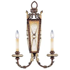 Bristol Manor 2 Light Wall Sconce