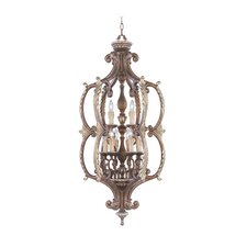 <strong>Livex Lighting</strong> Seville 9 Light Foyer Pendant