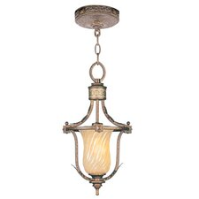<strong>Livex Lighting</strong> Bristol Manor 1 Light Convertible Foyer Pendant