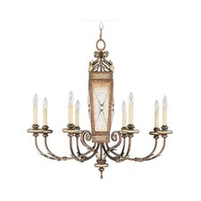 Bristol Manor 8 Light Chandelier