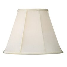 <strong>Livex Lighting</strong> Shantung Silk Empire Lamp Shade in Off White