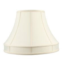 Shantung Silk Lamp Shade in Off White
