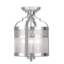 Westfield 3 Light Convertible Drum Pendant