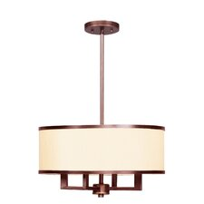 <strong>Livex Lighting</strong> Park Ridge 4 Light Chandelier