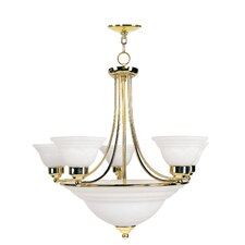 <strong>Livex Lighting</strong> North Port 5 Light Chandelier