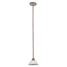 Home Basics 1 Light Pendant
