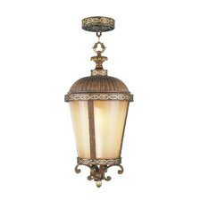 <strong>Livex Lighting</strong> Seville 1 Light Outdoor Hanging Lantern