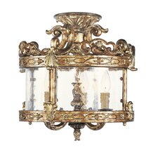 <strong>Livex Lighting</strong> Chateau Convertible Foyer Pendant