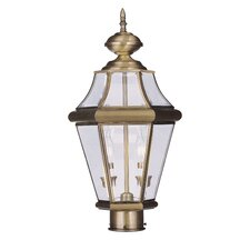 Georgetown 2 Light Outdoor Post Lantern