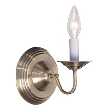 <strong>Livex Lighting</strong> Williamsburg 1 Light Wall Sconce
