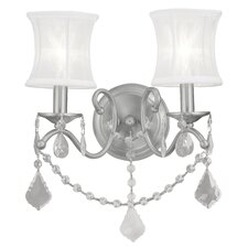 <strong>Livex Lighting</strong> Newcastle 2 Light Wall Sconce