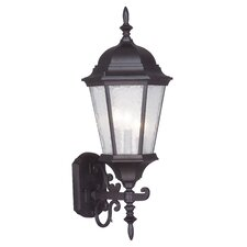 Hamilton 3 Light Outdoor Wall Lantern