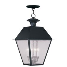 Mansfield 4 Light Outdoor Hanging Lantern