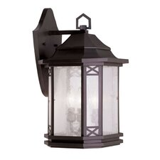 <strong>Livex Lighting</strong> Tahoe 3 Light Outdoor Wall Lantern