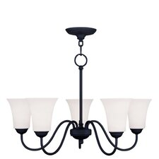 <strong>Livex Lighting</strong> Ridgedale 5 Light Chandelier